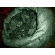 Уголь фасованный в мешках по 50кг.